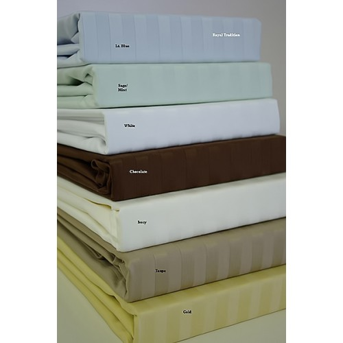 800 Thread count Full size Stripe sheet sets