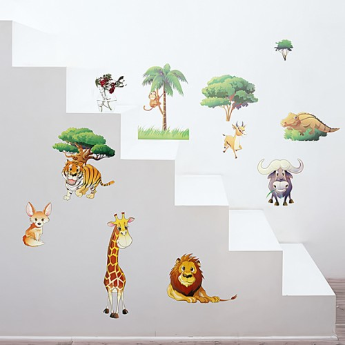 African Field - Wall Decals Stickers Appliques Home Décor