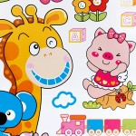 Animal Friends-1 - Wall Decals Stickers Appliques Home Décor