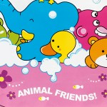 Animal Friends-2 - Wall Decals Stickers Appliques Home Décor