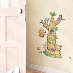 Animal Tree Friends - Large Wall Decals Stickers Appliques Home Décor
