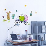 Bicycling 1 - Wall Decals Stickers Appliques Home Décor