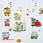 Chu Chu Train-1 - Wall Decals Stickers Appliques Home Décor