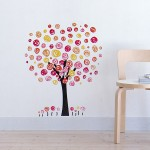 Colorful Tree - Wall Decals Stickers Appliques Home Décor