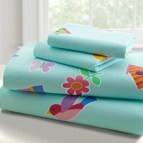 Olive Kids Birdie-Twin Cotton Twin Sheet Sets