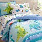 Olive Kids Dinosaur Land-Twin Cotton Twin Sheet Sets