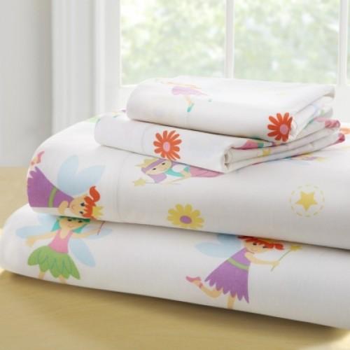 Olive Kids Fairy Princess-Full Cotton Full Sheet Sets