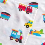 Olive Kids Trains, Planes & Trucks-Full Cotton Full Sheet Sets